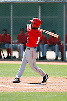 Rolando Gomez - Los Angeles Angels - 2009 extended spring training.Photo by:  Bill Mitchell/Four Seam Images
