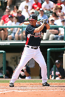 March 23rd 2008:  Chipper Jones of the Atlanta Braves during a Spring Training game at Osceola County Stadium in Kissimmee, FL.  Photo by:  Mike Janes/Four Seam Images