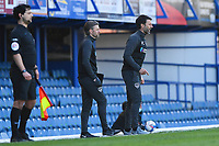 Portsmouth Manager Danny Cowley right  issues instructions during Portsmouth vs Rochdale, Sky Bet EFL League 1 Football at Fratton Park on 2nd April 2021