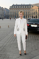 Virginie Efira - Show Schiaparelli - Paris Fashion Week Haute Couture Spring-Summer 2017 - 23 janvier 2017 - FRANCE