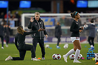 SAN JOSE, CA - DECEMBER 6: Stanford Cardinal head coach Paul Ratcliffe during a game between UCLA and Stanford Soccer W at Avaya Stadium on December 6, 2019 in San Jose, California.