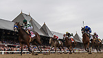 August 28, 2021: Gamine #1, ridden by jockey John Velazquez wins the Grade 1 Ballerina Handicap at Saratoga Race Course in Saratoga Springs, N.Y. on August 28th, 2021. Rob Simmons/Eclipse Sportswire/CSM