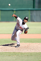 El'Hajj Muhammed #28 of the Billings Mustangs during a game against the Orem Owlz in a Pioneer League game at Brent Brown Ballpark on July 24, 2011 in Orem, Utah. (Bill Mitchell/Four Seam Images)