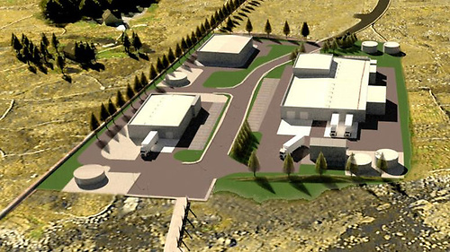 """The Páirc na Mara project in Connemara included plans for a """"low carbon marine innovation park"""""""