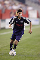 The Revolution's Clint Dempsey. The New England Revolution defeated the MetroStars 4 to 2 at Gillette Stadium, Foxbourgh, MA, on June 25, 2005.