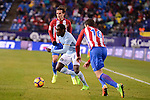 Atletico de Madrid's Sime Vrsaljko and Antoine Griezmann and Celta de Vigo's Pione Sisto during La Liga match between Atletico de Madrid and Celta de Vigol at Vicente Calderon Stadium in Madrid, Spain. December 03, 2016. (ALTERPHOTOS/BorjaB.Hojas)