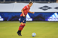 KANSAS CITY, KS - SEPTEMBER 02: Reto Ziegler #3 of FC Dallas on the ball during a game between FC Dallas and Sporting Kansas City at Children's Mercy Park on September 02, 2020 in Kansas City, Kansas.