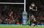 Beauden Barrett and Julian Savea celebrate another All Blacks try.<br /> Dove men Series 2014<br /> Wales v New Zealand<br /> 22.11.14<br /> ©Steve Pope -SPORTINGWALES