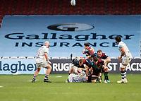 26th December 2020; Twickenham Stoop, London, England; English Premiership Rugby, Harlequins versus Bristol Bears; Danny Care of Harlequins with the box kick