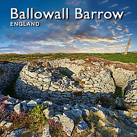 Ballowall Barrow Bronze age Burial Cairn - Pictures Images Photos