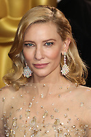 HOLLYWOOD, LOS ANGELES, CA, USA - MARCH 02: Cate Blanchett at the 86th Annual Academy Awards held at Dolby Theatre on March 2, 2014 in Hollywood, Los Angeles, California, United States. (Photo by Xavier Collin/Celebrity Monitor)