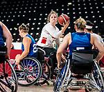 Arinn Young, Tokyo 2020 - Wheelchair Basketball // Basketball en fauteuil roulant.<br /> Canada takes on the USA in the wheelchair basketball quarterfinal // Le Canada affronte les États-Unis en quart de finale de basketball en fauteuil roulant. 31/08/2021.