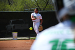 Mean Green Softball v UAB at Lovelace  Field Club in Denton, Texas on April 2, 2021