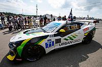 #71 Rebel Rock Racing Chevrolet Camaro GT4.R, GS: Frank DePew, Robin Liddell, Race Winnwe