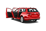 Car images of a 2015 Volkswagen Golf Highline 5 Door Wagon 2WD Doors