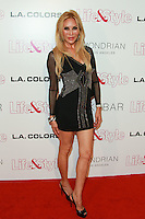 WEST HOLLYWOOD, CA, USA - OCTOBER 23: Tess Broussard arrives at the Life & Style Weekly 10 Year Anniversary Party held at SkyBar at the Mondrian Los Angeles on October 23, 2014 in West Hollywood, California, United States. (Photo by David Acosta/Celebrity Monitor)