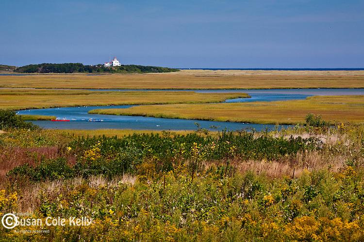 Nauset Marsh in Cape Cod National Seashore, Eastham, MA, USA