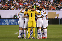 PHILADELPHIA, PENNSYLVANIA - JUNE 30: United States  during the 2019 CONCACAF Gold Cup quarterfinal match between the United States and Curacao at Lincoln Financial Field on June 30, 2019 in Philadelphia, Pennsylvania.
