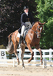 10 July 2009: Dorothy Crowell riding Radio Flyer during the dressage phase of the CIC 3* Maui Jim Horse Trials at Lamplight Equestrian Center in Wayne, Illinois.