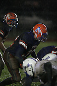 Attica Blue Devils varsity football against the Batavia Blue Devils during a Section V playoff game at Attica High School on October 27, 2006 in Attica, New York.  (Copyright Mike Janes Photography)