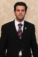 DC United midfielder Ben Olsen at the Sixth Annual DC United Kickoff Luncheon at the Capitol Hilton in Washington D.C. on March 25, 2008.