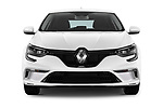 Car photography straight front view of a 2017 Renault Megane GT 5 Door Hatchback