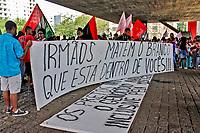 Manifestaçao Marcha da Consciencia Negra; avenida Paulista; Sao Paulo. 20.11.2019. Foto Lineu Kohatsu