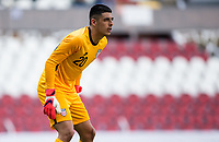 GUADALAJARA, MEXICO - MARCH 18: David Ochoa #20 of the United States during a game between Costa Rica and USMNT U-23 at Estadio Jalisco on March 18, 2021 in Guadalajara, Mexico.