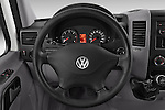 Car pictures of steering wheel view of a 2014 Volkswagen CRAFTER 2.0TDI 4 Door Cargo Van Steering Wheel