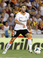 Valencia's Sergio Canales during La Liga match.September 1,2013. (ALTERPHOTOS/Acero) <br /> Football Calcio 2013/2014<br /> La Liga Spagna<br /> Foto Alterphotos / Insidefoto <br /> ITALY ONLY