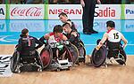 Rio 2016 - Wheelchair Rugby // Rugby En Fauteuil roulant.<br /> Canada vs Japan in the Wheelchair Rugby bronze medal final // Le Canada contre le Japon dans la finale pour la médaille de bronze du rugby en fauteuil roulant. 18/09/2016.