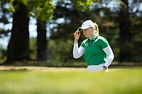 STANFORD, CA - APRIL 23: Sofie Kibsgaard Nielsen at Stanford Golf Course on April 23, 2021 in Stanford, California.