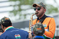 Plenty of rhythmical support for India during India vs New Zealand, ICC World Test Championship Final Cricket at The Hampshire Bowl on 19th June 2021