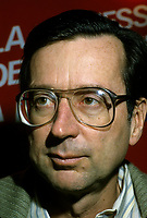 Montreal (QC)CANADA -1985  File Photo<br /> <br /> Liberal Provincial Leader Robert Bourassa