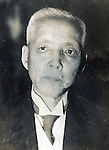 Undated - Ichizo Kobayashi (1873-1957) was a Japanese industrialist and Minister of Commerce and Industry. He founded Hankyu Corp.(now, Hankyu Hanshin Holdings, Inc.) in 1907. Later Kobayashi was president of council of Tokyo Gasu Denky (Tokyo Gas and Electric). His great-grandchild is Shuzo Matsuoka.  (Photo by Kingendai Photo Library/AFLO)