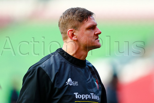 3rd January 2021; Welford Road Stadium, Leicester, Midlands, England; Premiership Rugby, Leicester Tigers versus Bath Rugby; Jasper Wiese of Leicester Tigers pictured during the pre-match warm-up