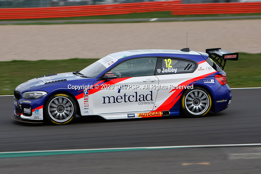 2020 British Touring Car Championship Media day.. #12 Stephen Jelley. Team Parker Racing. BMW 125i M Sport.