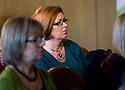 Social Enterprise Awareness Raising Event 2012 :  Delegates listen to the speakers ....