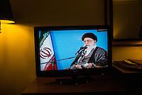 khamenei in televisione