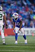 Buffalo Bills wide receiver Jeremy Kerley (10) during an NFL football game against the New York Jets, Sunday, December 9, 2018, in Orchard Park, N.Y.  (Mike Janes Photography)