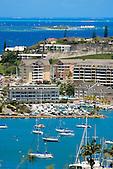 Port plaisance et la baie de l'Orphelinat, Nouméa Sud, Nouvelle-Calédonie