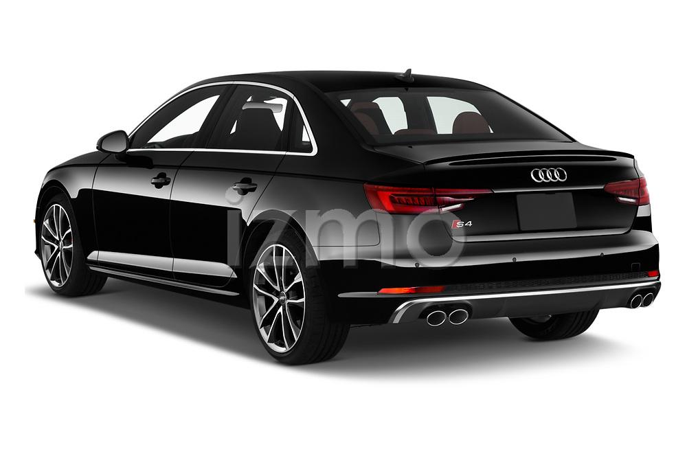 Car pictures of rear three quarter view of 2019 Audi S4 Premium-Plus 4 Door Sedan Angular Rear