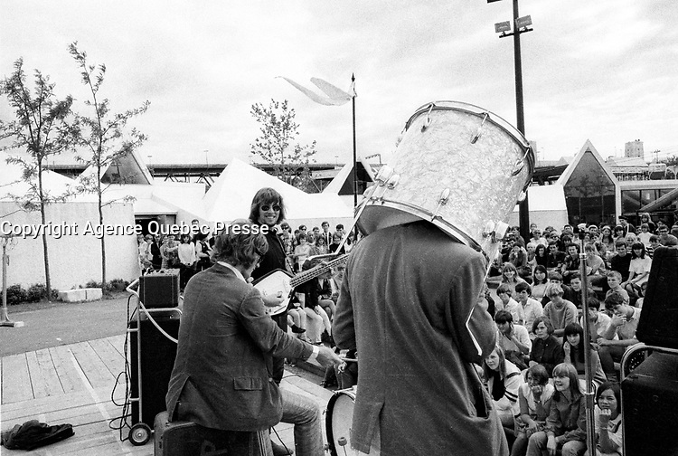FILE PHOTO - Les Gap at expo 67<br /> <br /> <br /> <br /> PHOTO : Alain Renaud - Agence Quebec Presse