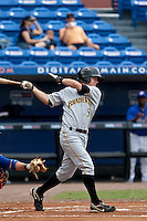 April 25 2010: Brock Holt (5) of the Bradenton Marauders during a game vs. the St. Lucie Mets  at Digital Domain Park in Port St. Lucie, Florida. St. Lucie, the Florida State League High-A affiliate of the New York Mets, won the game against Bradenton, affiliate of the Pittsburgh Pirates, by the score of 5-4  Photo By Scott Jontes/Four Seam Images