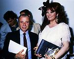 ACHILLE BONITO OLIVA E GIANNA SERRA<br /> CASINA AURORA ROMA 1989