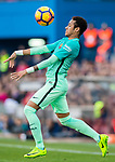 Neymar da Silva Santos Junior of FC Barcelona in action during their La Liga match between Atletico de Madrid and FC Barcelona at the Santiago Bernabeu Stadium on 26 February 2017 in Madrid, Spain. Photo by Diego Gonzalez Souto / Power Sport Images