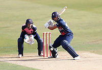 Jack Leaning on the attack for Kent during Kent Spitfires vs Middlesex, Vitality Blast T20 Cricket at The Spitfire Ground on 16th September 2020