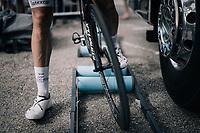 Jack Bauer (NZL/Quickstep Floors) warming down after the stage<br /> <br /> 104th Tour de France 2017<br /> Stage 10 - Périgueux › Bergerac (178km)