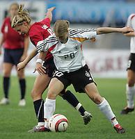MAR 15, 2006: Faro, Portugal:  Aly Wagner, Petra Wimbersky