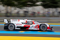 #8 Toyota Gazoo Racing Toyota GR010 - Hybrid Hypercar, Sébastien Buemi, Kazuki Nakajima, Brendon Hartley, 24 Hours of Le Mans , Free Practice 1, Circuit des 24 Heures, Le Mans, Pays da Loire, France